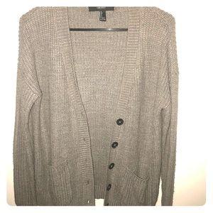Grey FOREVER21 Cardigan